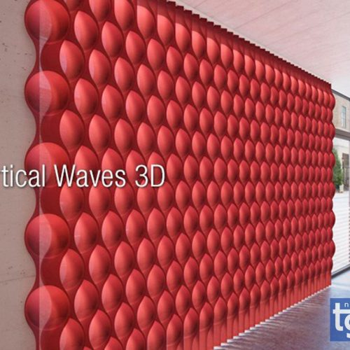 vertical waves 3d