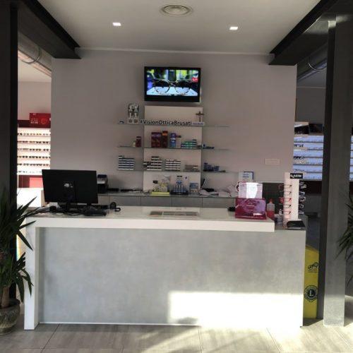 bancone show room